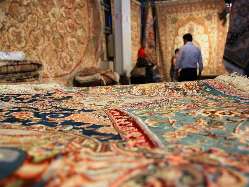 تقلید از فرش ایرانی برای فروش جهانی