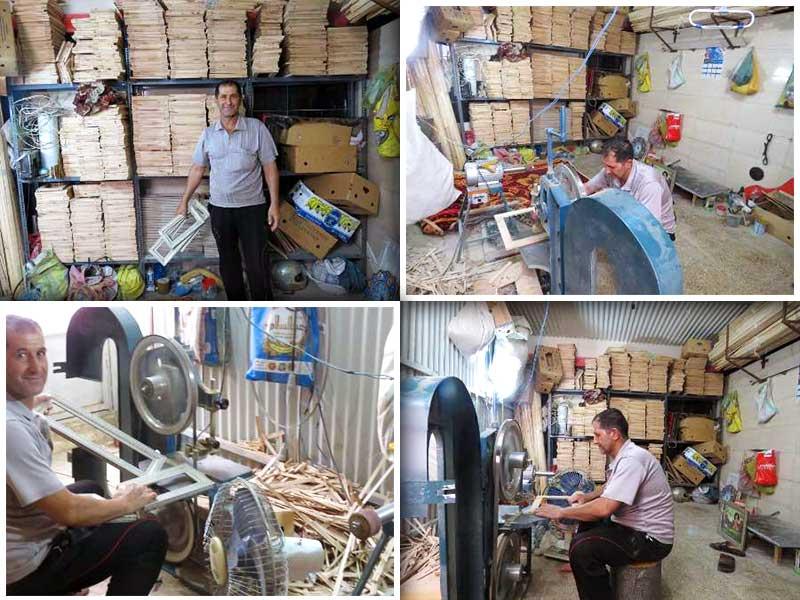 نمایشگاه صنایع دستی گرجستان میزبان هنرمندان گتوندی