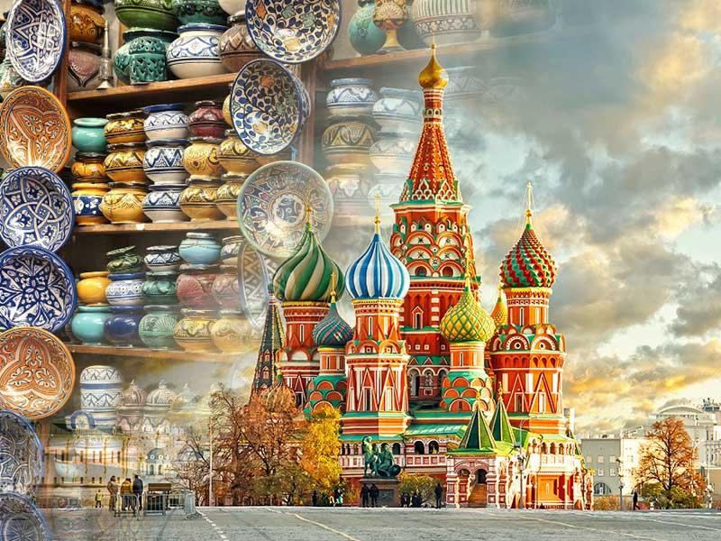 برپایی نمایشگاه صنایع دستی ایران در مسکو