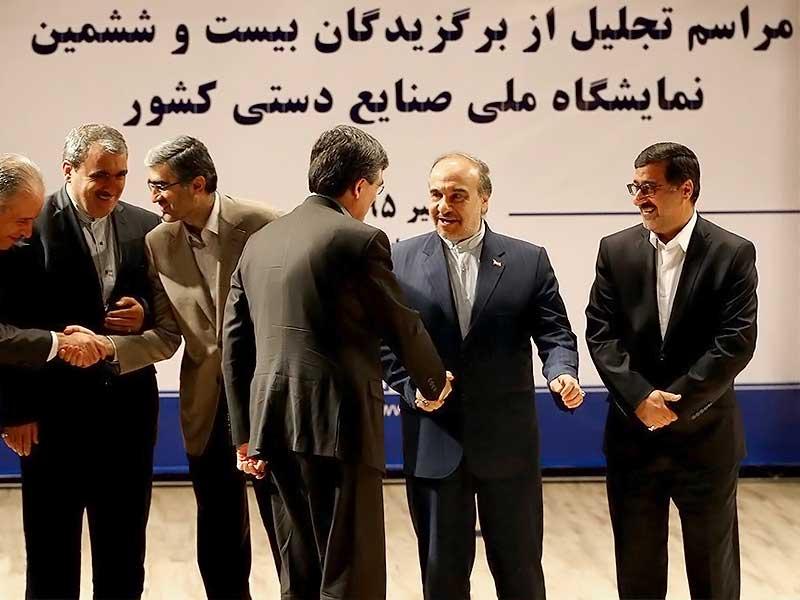 فروش پنج میلیاردی دستاورد نمایشگاه ملی صنایع دستی