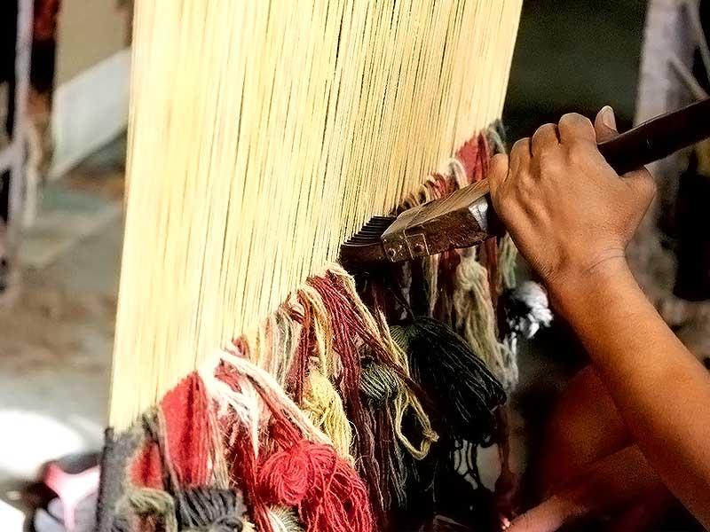 ظرفیت تولید صنایع دستی در شهرستان نمین